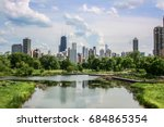 Chicago Skyline View From...