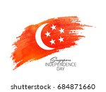 nice and beautiful abstract or... | Shutterstock .eps vector #684871660