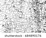 black and white grunge... | Shutterstock . vector #684890176