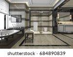 3d Rendering Modern Loft...