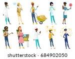 profession set for women  ...   Shutterstock .eps vector #684902050