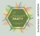 Summer Party Poster  Banner ...