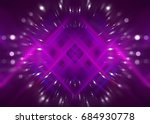 abstract background lilac bokeh ... | Shutterstock . vector #684930778