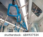 handles on the mrt malaysia for ...   Shutterstock . vector #684937534