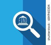 search or  find mutual fund  ... | Shutterstock .eps vector #684960304