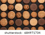 Rows Of Various Shortbread And...