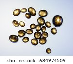 black star sapphire from kenya | Shutterstock . vector #684974509