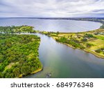 Aerial View Of Jones Bay At...