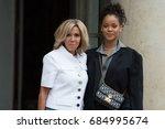 paris  france   july 26  2017   ...   Shutterstock . vector #684995674