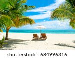 Beautiful Sandy Beach With...