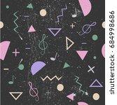 seamless geometric pattern | Shutterstock .eps vector #684998686