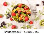 fruit salad | Shutterstock . vector #685012453