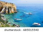 greece  the island of zakynthos.... | Shutterstock . vector #685015540