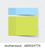 set of sticky stickers with... | Shutterstock .eps vector #685024774