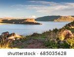 beautiful view of the umayo... | Shutterstock . vector #685035628