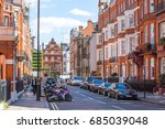 london  uk   september 8  2016  ... | Shutterstock . vector #685039048