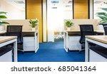 interior of a modern office | Shutterstock . vector #685041364