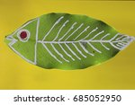 The Fish Skeleton Painting On...
