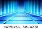 virtual space. vector... | Shutterstock .eps vector #685056643