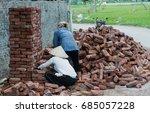brick factory in vietnam | Shutterstock . vector #685057228
