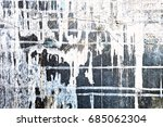 metal texture with scratches... | Shutterstock . vector #685062304