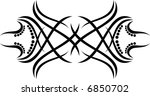 calligraphical figures created... | Shutterstock .eps vector #6850702