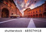 sunset view of the piazza santo ... | Shutterstock . vector #685074418