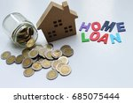 home loan   mortgage loan and...   Shutterstock . vector #685075444