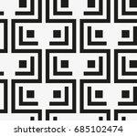 vector seamless pattern. modern ... | Shutterstock .eps vector #685102474