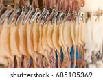 dried squid for grilled squid... | Shutterstock . vector #685105369