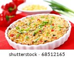 whole tuna pie with cor ... | Shutterstock . vector #68512165