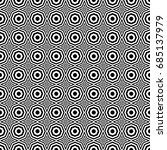 seamless pattern with black... | Shutterstock .eps vector #685137979