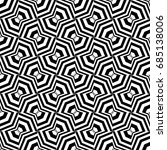 seamless pattern with black... | Shutterstock .eps vector #685138006