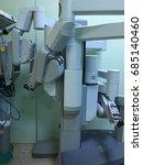 robotic surgery. | Shutterstock . vector #685140460
