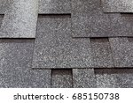roofing shingles black and gray ... | Shutterstock . vector #685150738