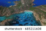 aerial view of isola di...   Shutterstock . vector #685211608