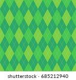 seamless argyle plaid pattern.... | Shutterstock .eps vector #685212940