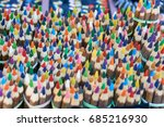 many bunches of colorful vivid... | Shutterstock . vector #685216930