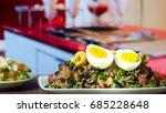 brazilian food bean tropeiro | Shutterstock . vector #685228648