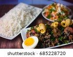 brazilian food bean tropeiro | Shutterstock . vector #685228720