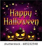 halloween cartoon | Shutterstock .eps vector #685232548