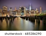 new york  united states  ... | Shutterstock . vector #685286290