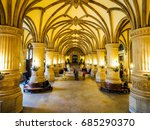 hamburg  germany   circa may... | Shutterstock . vector #685290370