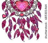 feminine pink apparel print....   Shutterstock .eps vector #685301464