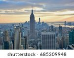 new york  united states  ... | Shutterstock . vector #685309948