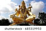 lord shiva big statue   Shutterstock . vector #685319953