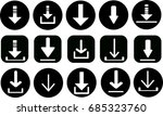 different set of elements for... | Shutterstock .eps vector #685323760