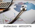 medical practice financial... | Shutterstock . vector #685323976