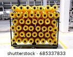 textile threads  | Shutterstock . vector #685337833
