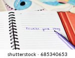 Small photo of Rewrite your story or Make notes background, Writer, New life, Be happy, make notes, Eye background, Creative workshop, Creative workplace, Find yourself